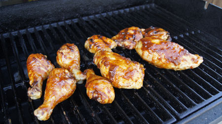 Just Right Barbecued Chicken