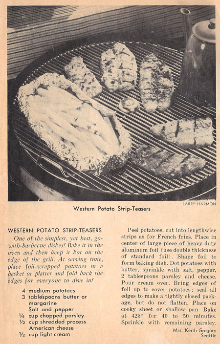 Western Potato Strip Teasers recipe
