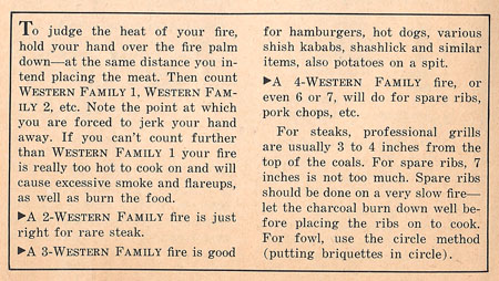 grilling instructions