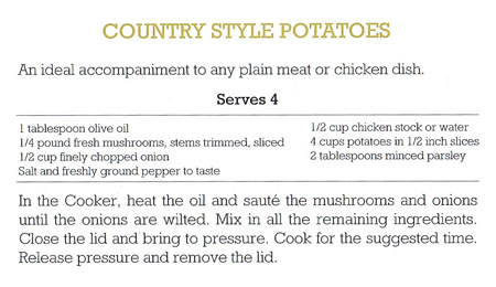 Country Style Potatoes