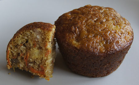 Donna's Carrot Cake Muffins