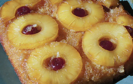 Pineapply Upside Down Cake
