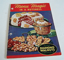 Menu Magic Diamond Walnuts cookbook