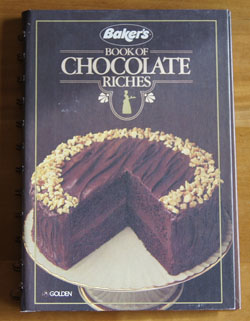 Baker's Book of Chocolate Riches cookbook