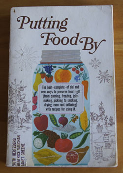 Putting Food By cookbook