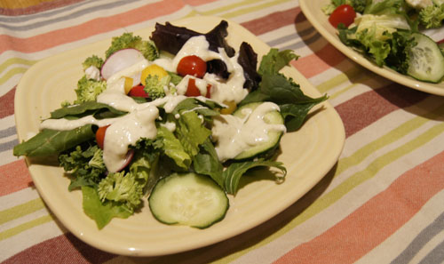 Goat Cheese Dressing