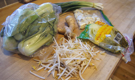 Chinese salad ingredients