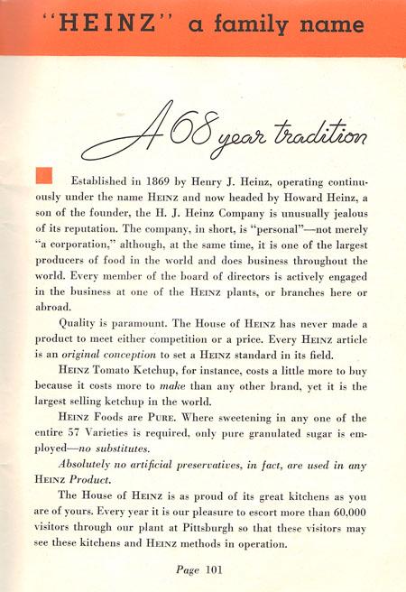 Heinz company information