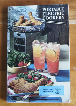 Portable Electric Cookery cookbook