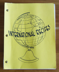 International Recipes cookbook