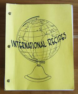 International Recipes cookbook