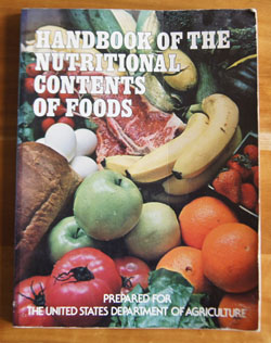 Handbook of the Nutritional Contents of Food