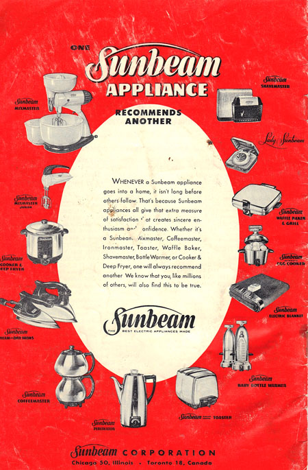 Sunbeam Frypan