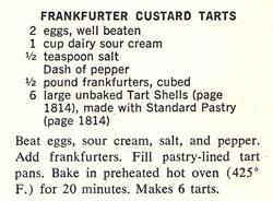 Frankfurter Custard Tarts