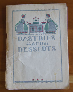 Pastries and Desserts cookbook