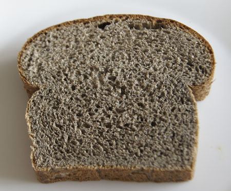 slice of buckwheat bread