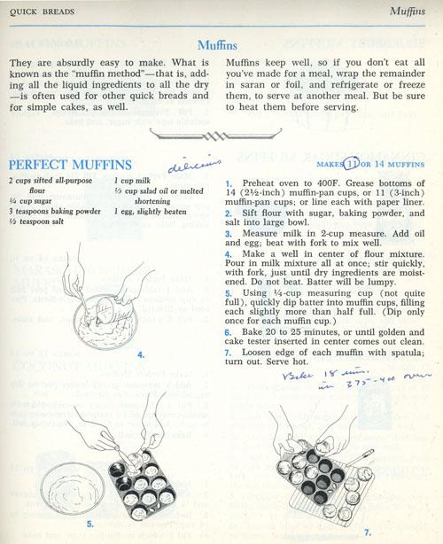 Perfect Muffins recipe