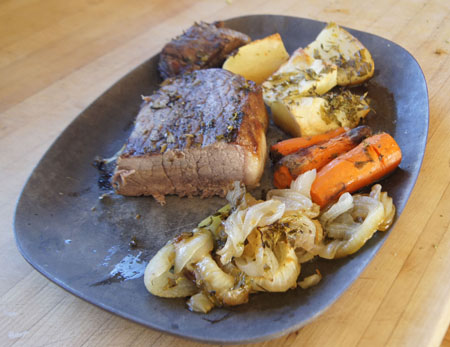 clay pot roast