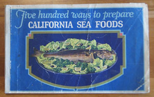 California Sea Foods cookbook