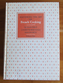 Mastering the Art of French Cooking cookbook