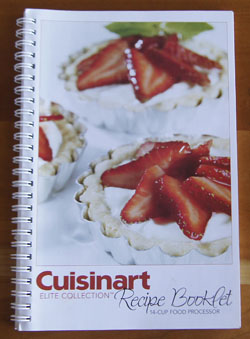 Cuisinart Elite Collection cookbook