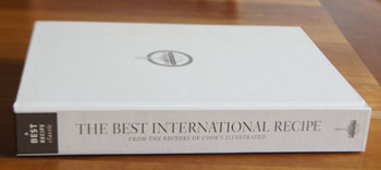 The Best International Recipes cookbook