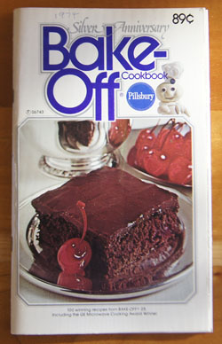 Pillsbury Silver Anniversary Bake-Off cookbook
