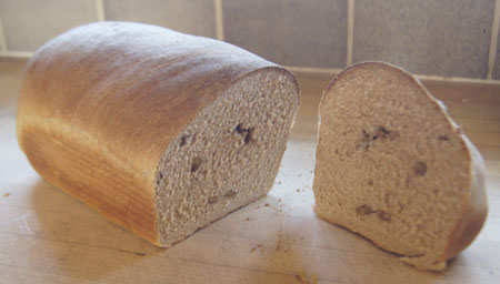 Walnut Bread Loaf