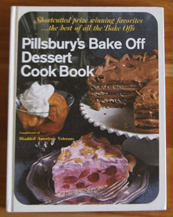 Pillsbury Bake Off Dessert cook book