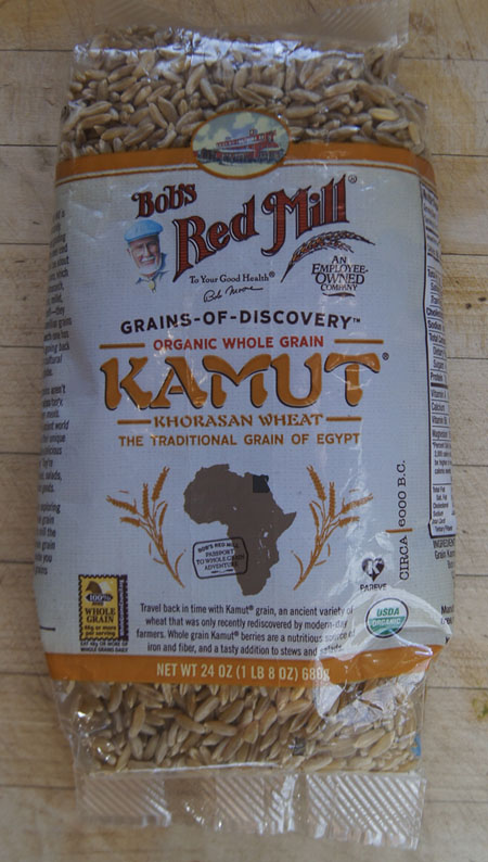 Bob's Red Mill Kamut package